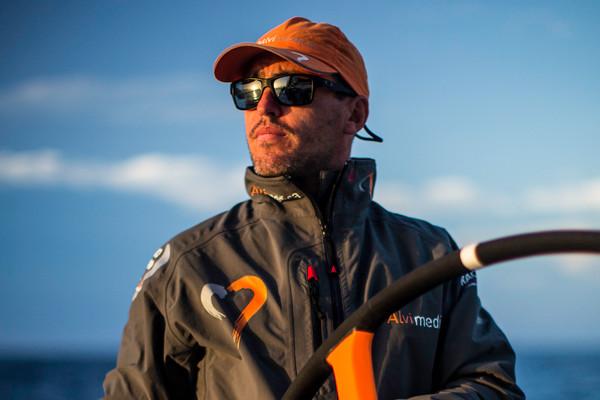 Alberto Bolzan al timone di Alvimedica. Foto Ross