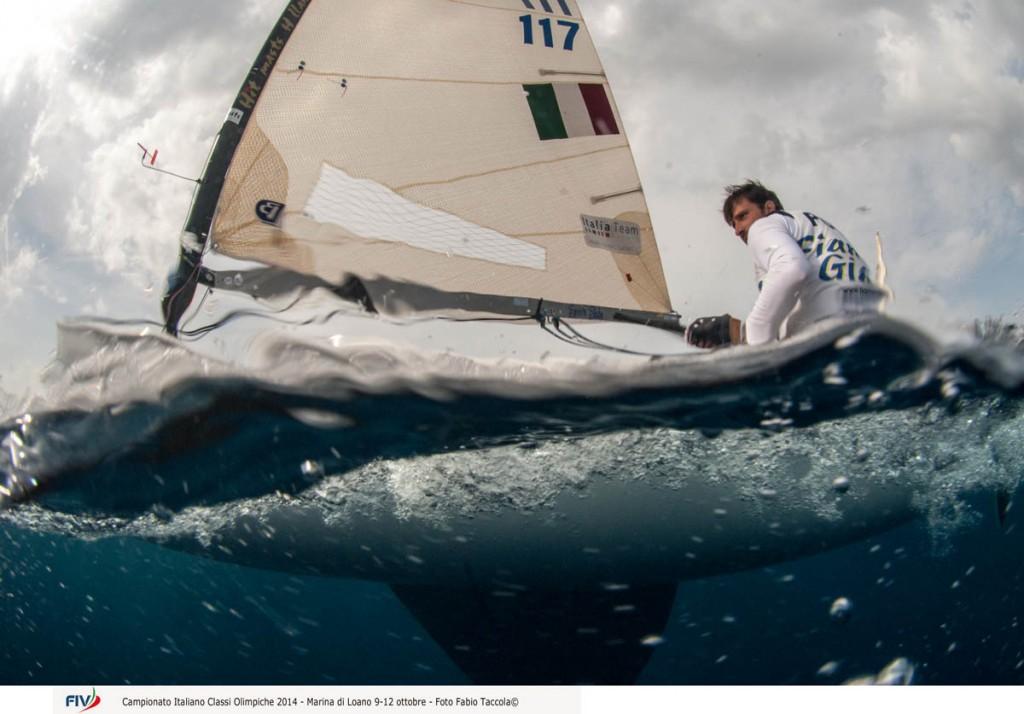 Giorgio Poggi in Finn, Foto Taccola/FIV