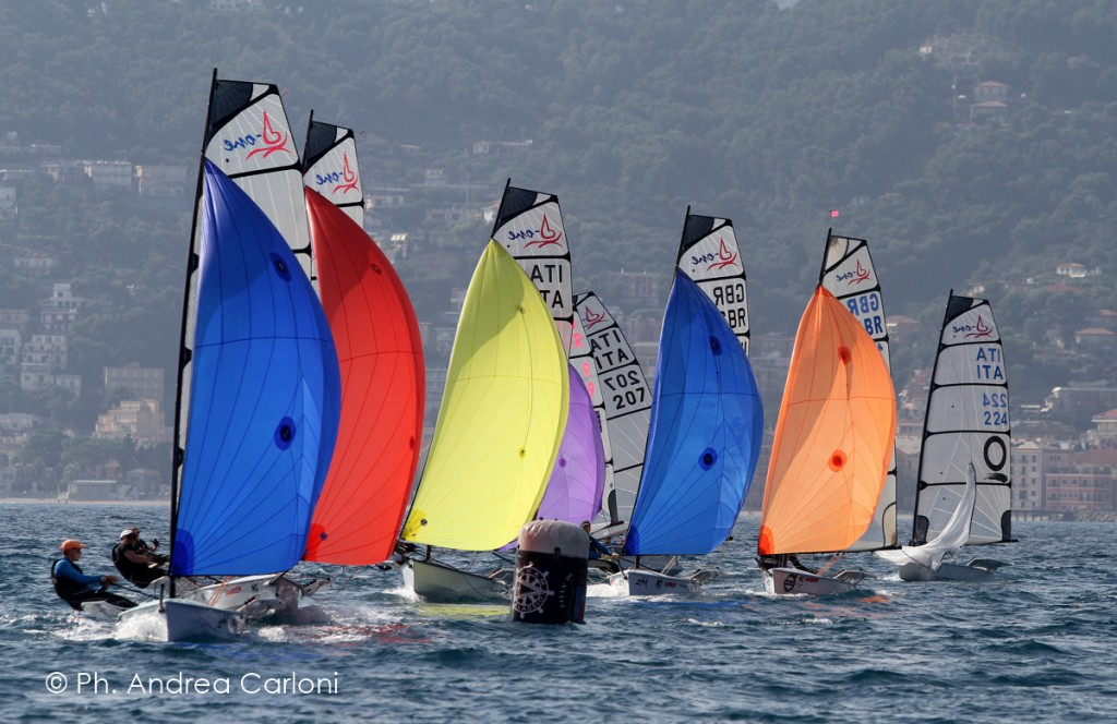 D-One in regata ad Alassio. Foto Carloni