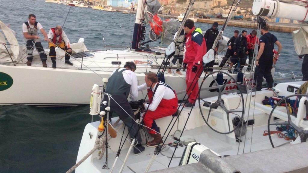 Due delle barche rifugiatesi a Lampedusa. Foto courtesy Guardia Costiera