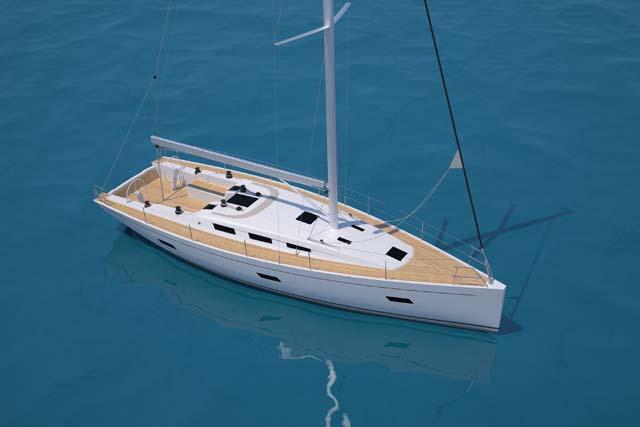 L'Italia 12.98 la progettazione è affidata a Matteo Polli e al design Team interno Italia Yachts, con il supporto dello Studio Cossutti per strutture e dettaglio