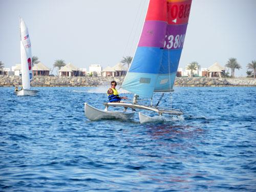 Attività alla Sailing Academy di Enrico Malingri