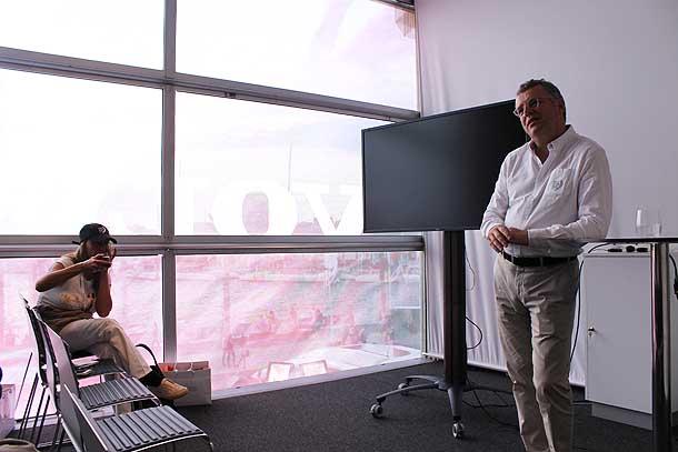 Il vice presidente Volvo Alain Essen