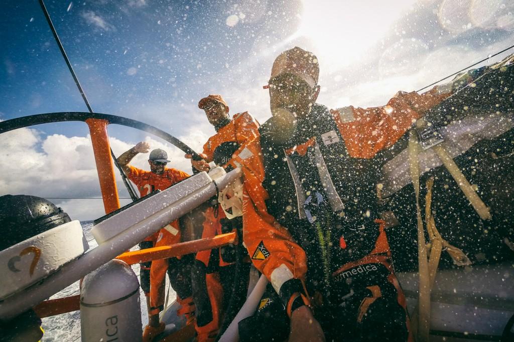 Team Alvimedica nell'Aliseo di Sud Est. Foto Ross