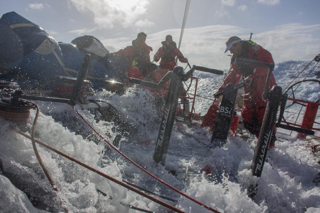 A bordo di Maserati in condizioni dure