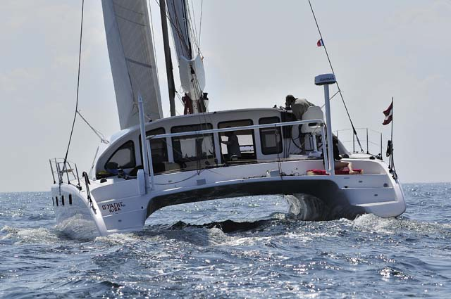 La neonata Class 4 è stata presentata a Cannes e ora è disponibile per prove in mare a Fréjus