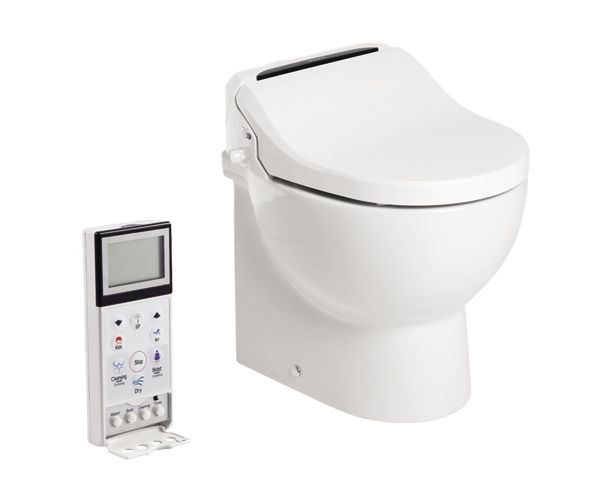 Il wc-bidet E-Breeze di Tecma