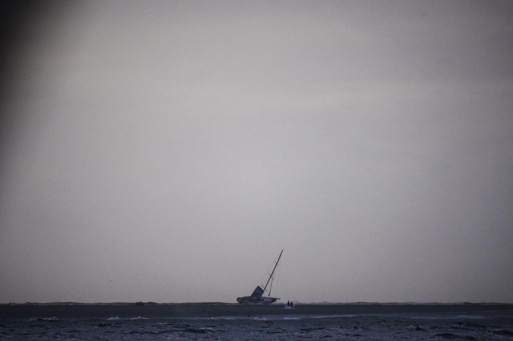 Vestas sul reef visto da Alvimedica. Foto Ross