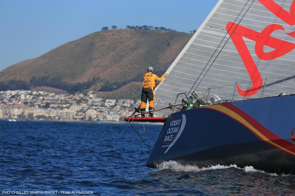 Abu Dhabi vincitore a Cape Town. Foto Martin Raget/Alvimedica