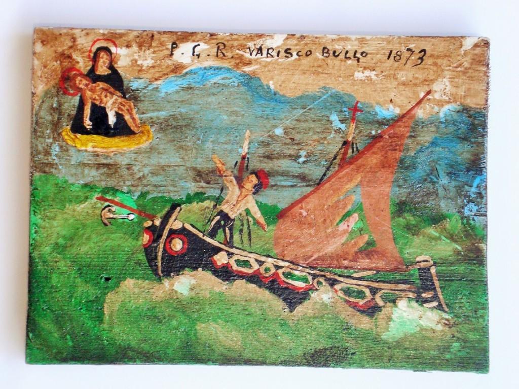 Nel periodo festivo dell'Immacolata la galleria Artefiera dedica la mostra a dipinti e libri sui salvataggi in mare