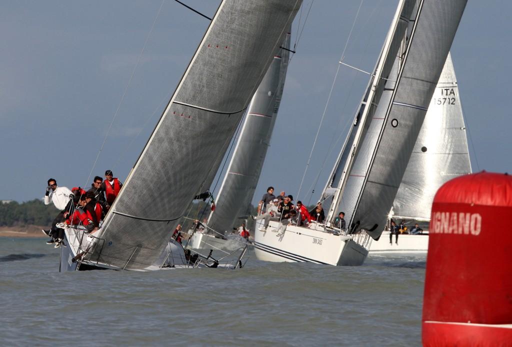 Classe ORC in regata a Lignano. Foto Carloni