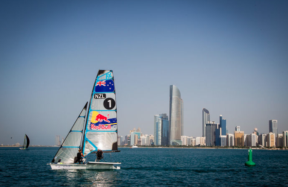 Maloney-Meech ad Abu Dhabi. Foto Jesus Renedo