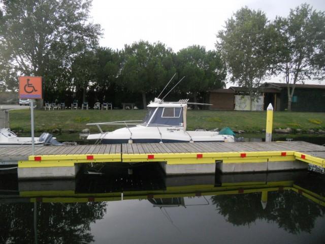 Il posto barca al Marina di Goro è riservato alle barche con persona disabile a bordo