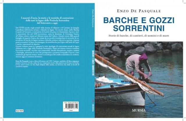"""Il libro """"Barche e gozzi sorrentini"""" di Enzo De Pasquale, edito da Mursia, è in vendita nella libreria Il Mare al prezzo di"""