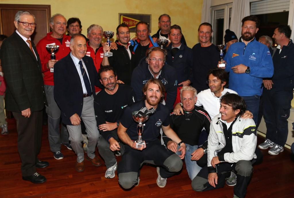 IL gruppo dei premiati ORC