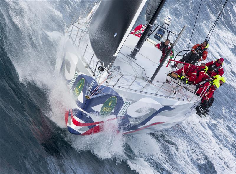 GIacomo alla partenza della Hobart. Foto Borlenghi/Rolex