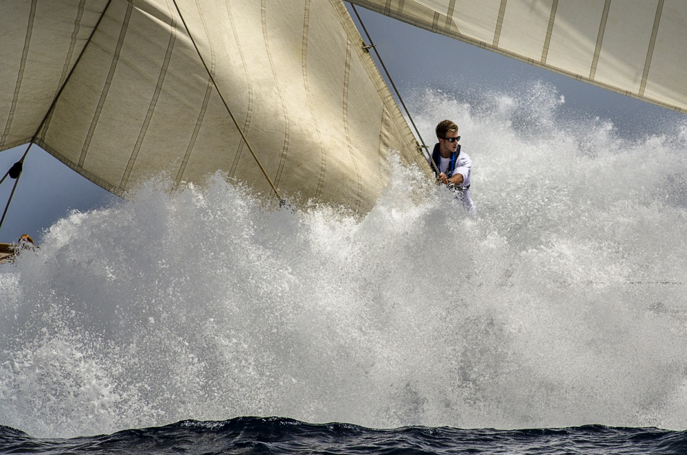 Lo scatto vincitore del Mirabaud Yacht Image of the Year. Foto Farré
