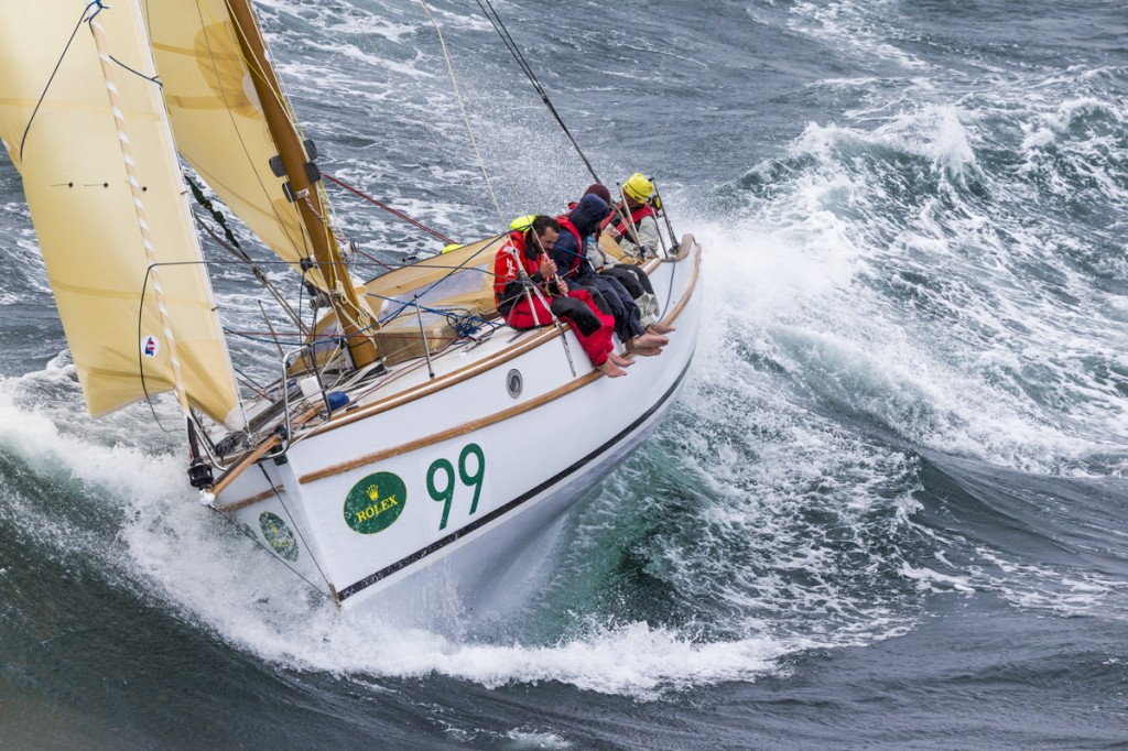 Maluka of Kermandie all'arrivo in Tasmania. Foto Borlenghi/Rolex