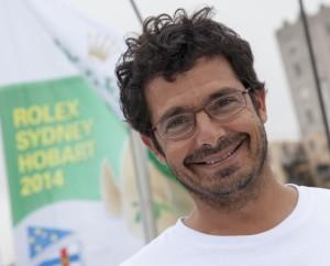 Francesco Mongelli, navigatore su Giacomo. Foto Borlenghi/Rolex