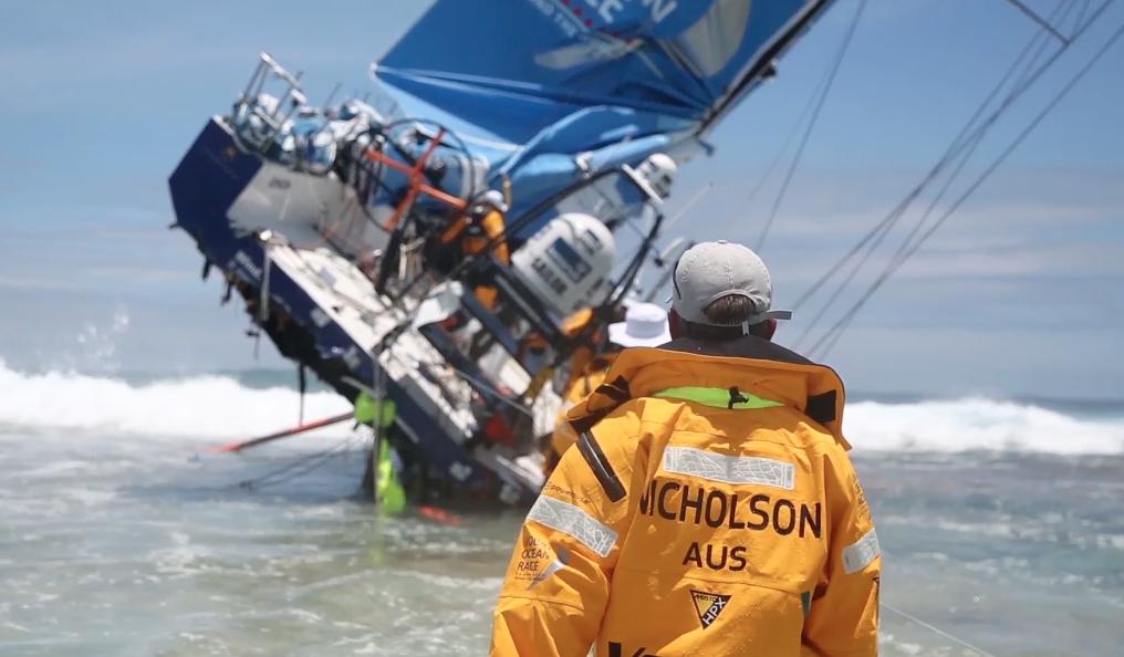 Immagine simbolica dei pensieri dello skipper Chris Nicholson