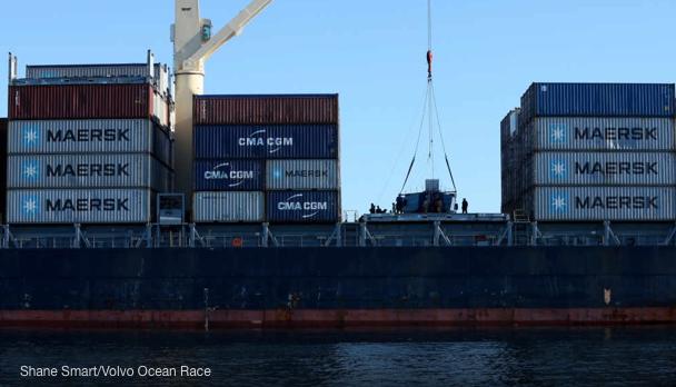 Vestas caricato sulla nave della Maersk