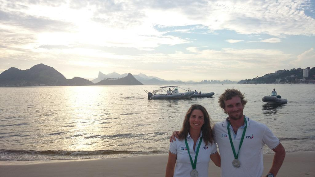 Vittorio Bissaro e Silvia Sicouri a Rio
