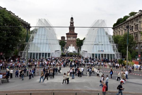 Presentazione di Aquae all'Expo Gate di Milano