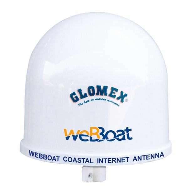 L'antenna internet weBBoats