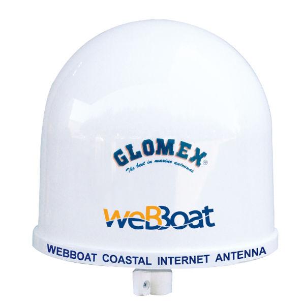 L'antenna internet weBBoats