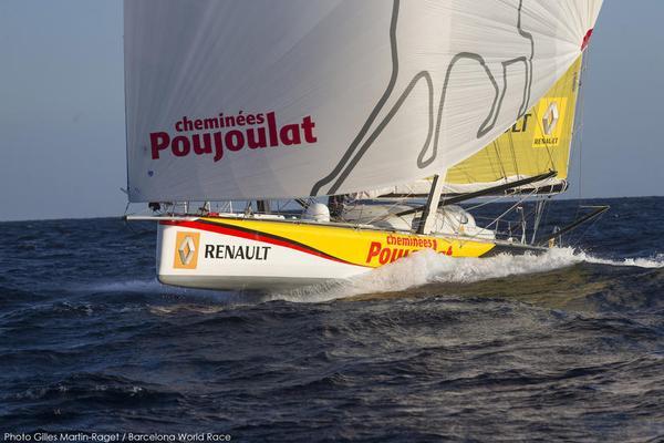 Cheminées Poujoulat rientra in Mediterraneo dopo 80 giorni di regata