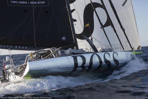 Hugo Boss in navigazione al lasco