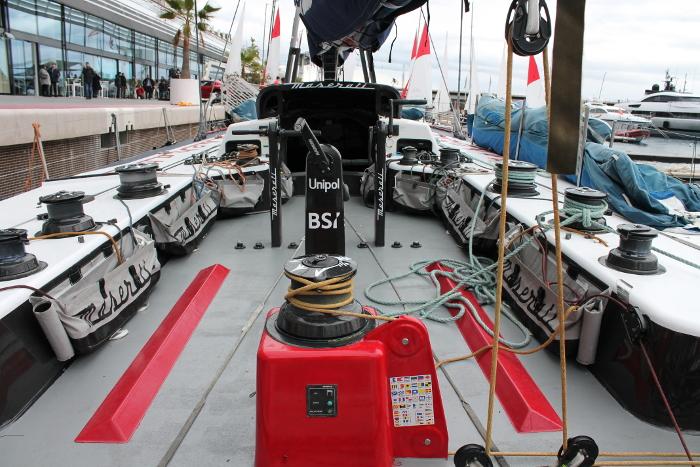 A bordo di Maserati. Foto Giuffrè