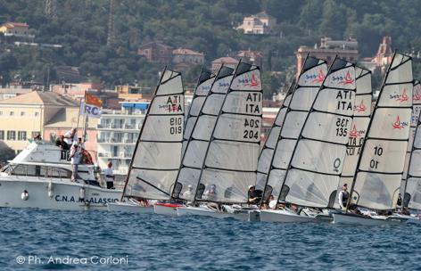 I D-One alla Gold Cup 2014 ad Alassio. Foto Carloni