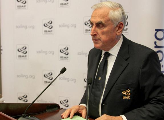 Carlo Croce, presidente dell'ISAF