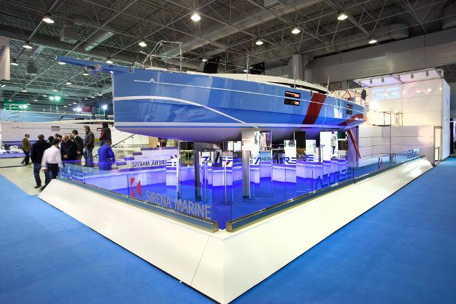 Il nuovo Azuree 33c in esposizione a Istanbul, adesso in viaggio verso Portoroz