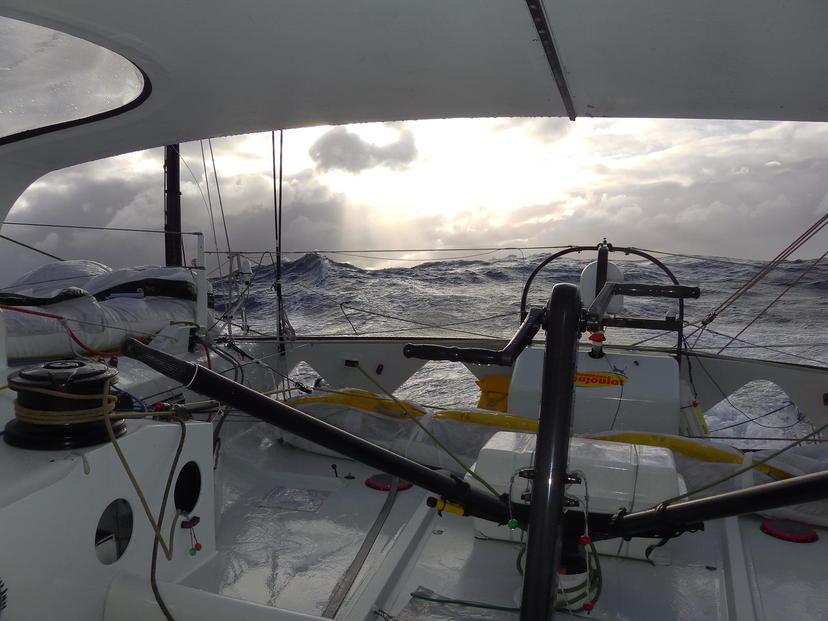 """Una """"tranquilla"""" giornata nel Souther Ocean vista da Cheminèes Poujoulat"""