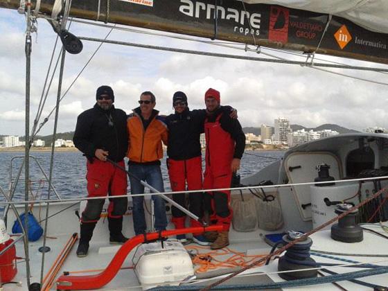 L'equipaggio a Cadice