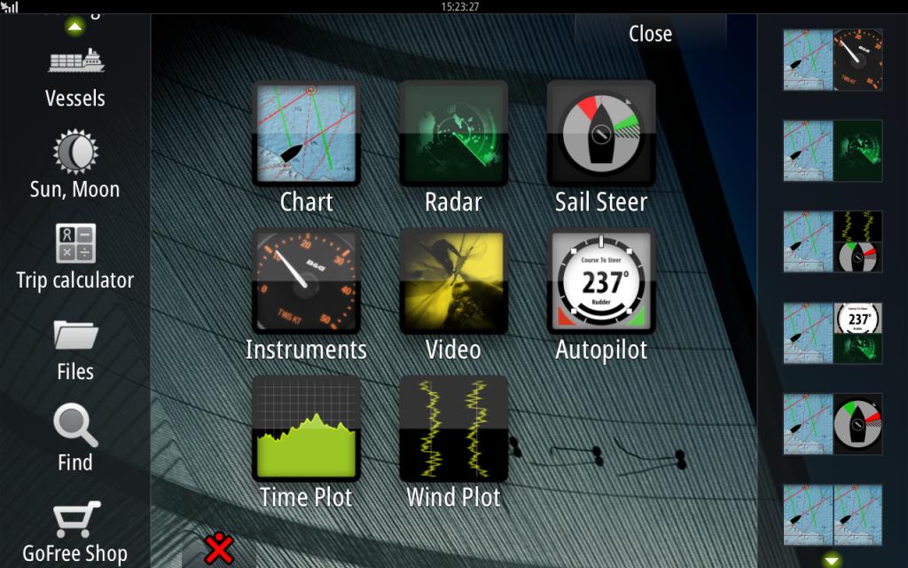 B&G screenshot