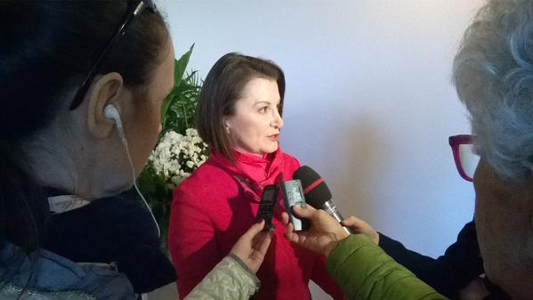 Carla Demaria nelle sue prime dichiarazioni alla stampa da Presidente UCINA