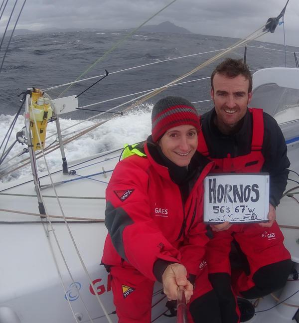 Anna Corbella e Gerard Martin su Gaes al passaggio di Capo Horn