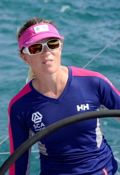 Sam Davies, skipper Team SCA