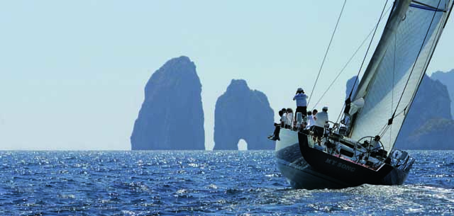My Song Pigi Loro Piana a Capri. Foto Palfrader