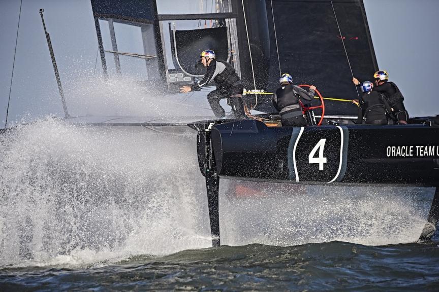 AC45 Turbo di Oracle Racing