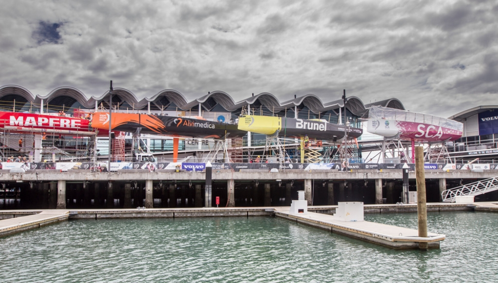 I VO65 ad Auckland. Foto Sanchez