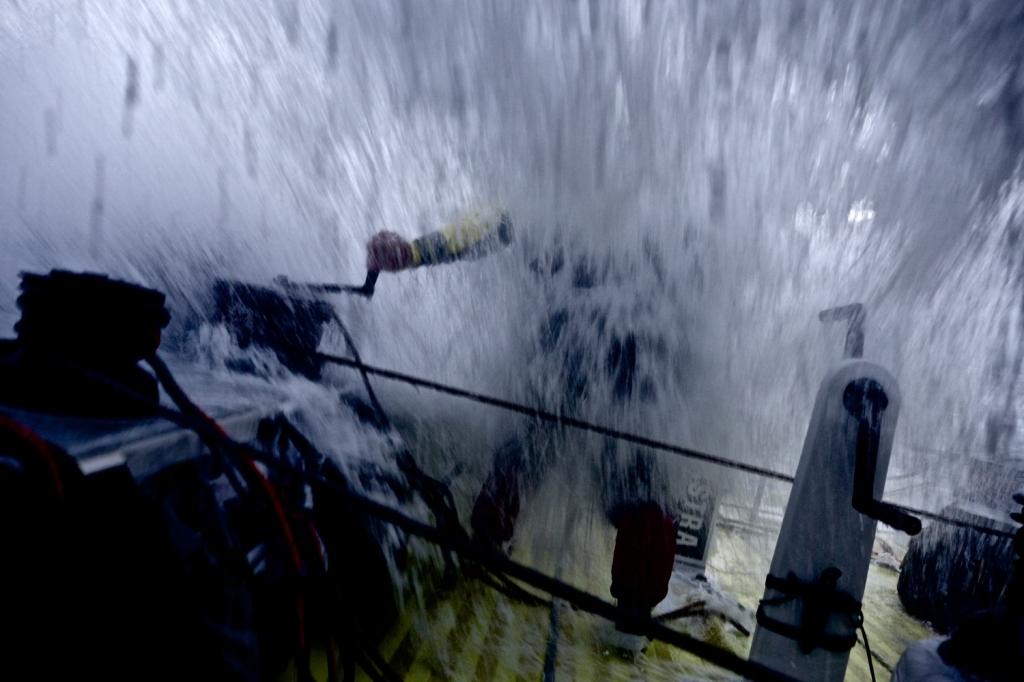 Brunel spinge al massimo in testa alla flotta. Foto Copper