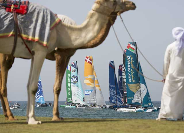 EXSS in Oman. Foto Lloyd Images