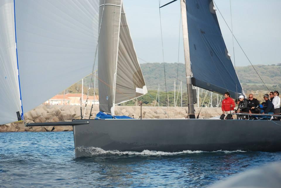 Il Tp52 B2 di Michele Galli, vincitore in IRC e ORC nella per Tutti