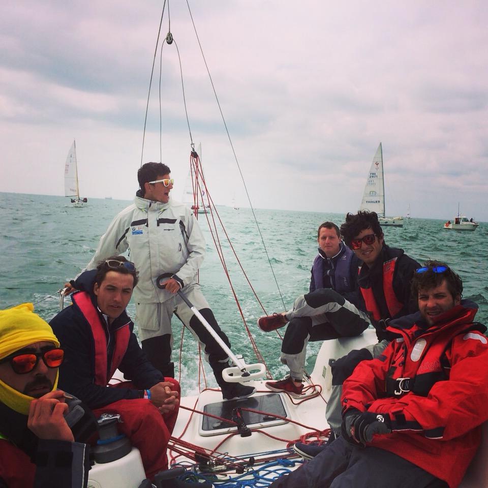 L'equipaggio italiano oggi a La Rochelle