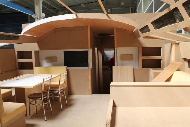 Gli interni del nuovo Euphoria 68. Foto Giuffrè