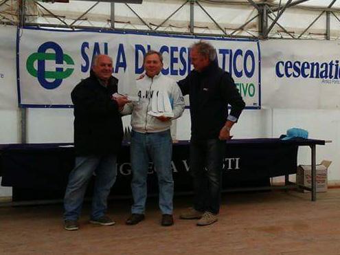 Stefano Casadei alla premiazione